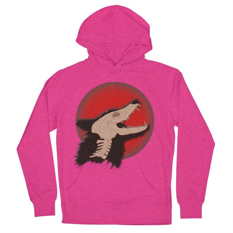 Blood Moon Werewolf Women's Pullover Hoody by TygerwolfeDesigns's Artist Shop