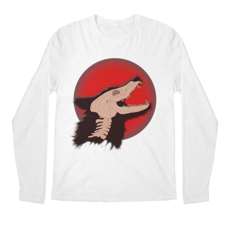 Blood Moon Werewolf Men's Longsleeve T-Shirt by TygerwolfeDesigns's Artist Shop