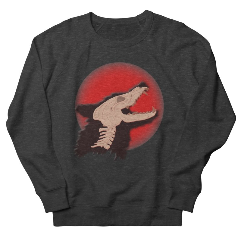 Blood Moon Werewolf Women's Sweatshirt by TygerwolfeDesigns's Artist Shop