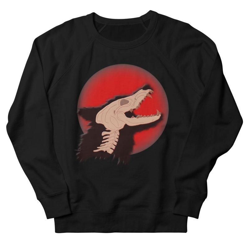 Blood Moon Werewolf Men's Sweatshirt by TygerwolfeDesigns's Artist Shop