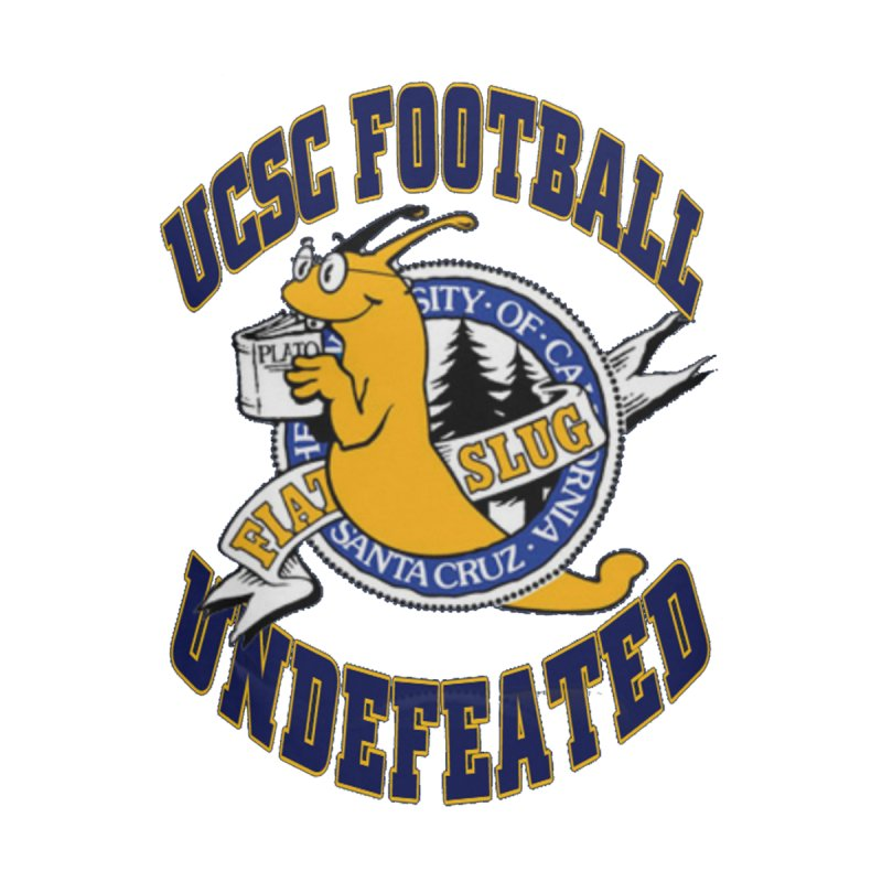 UCSC Slug Football Home Mounted Aluminum Print by UCSCfootball's Artist Shop