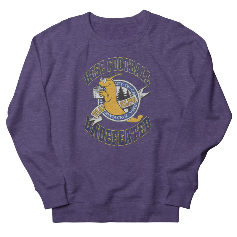 UCSC Slug Football Women's Sweatshirt by UCSCfootball's Artist Shop