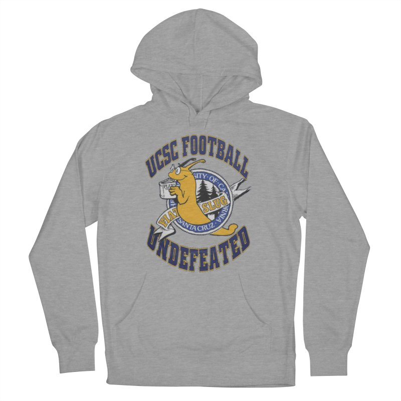 UCSC Slug Football Men's French Terry Pullover Hoody by UCSCfootball's Artist Shop
