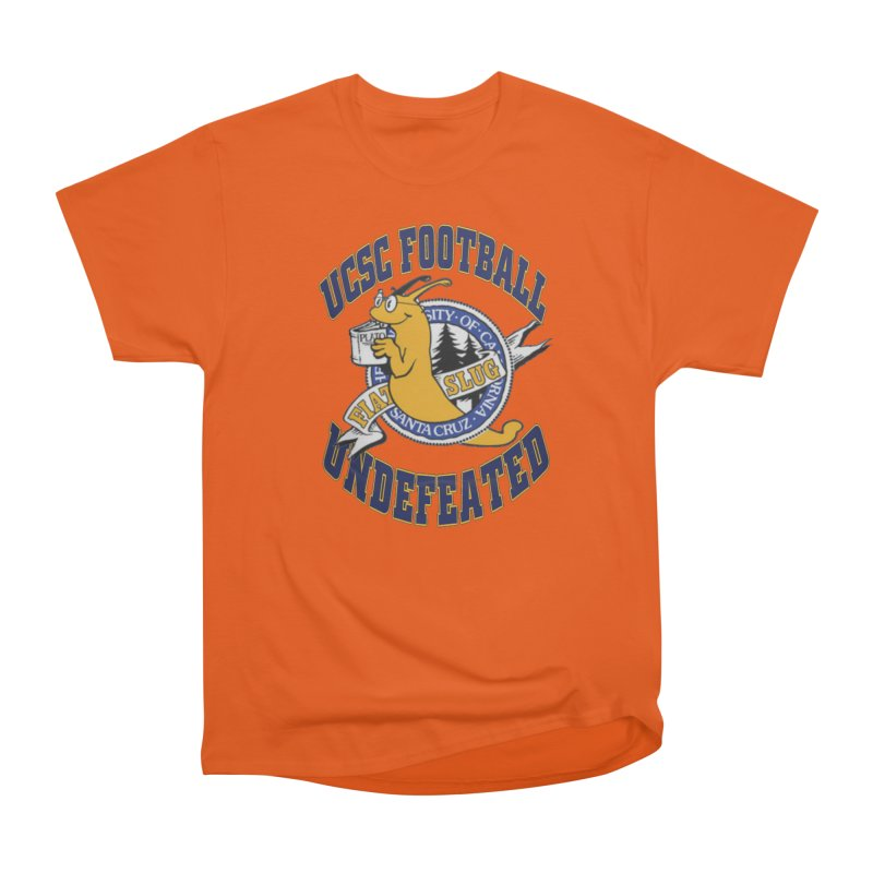 UCSC Slug Football Men's Heavyweight T-Shirt by UCSCfootball's Artist Shop