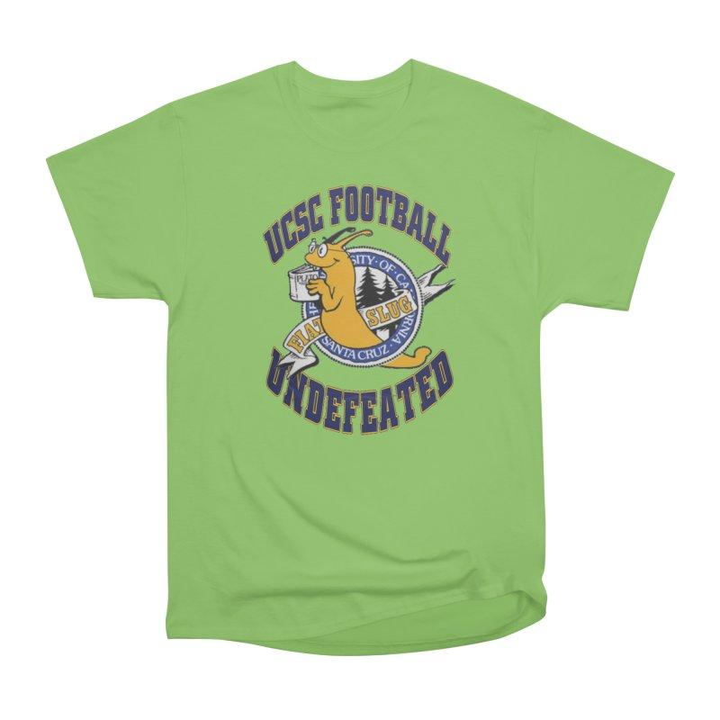 UCSC Slug Football Men's Heavyweight T-Shirt by UCSCfootball's Artist Shop