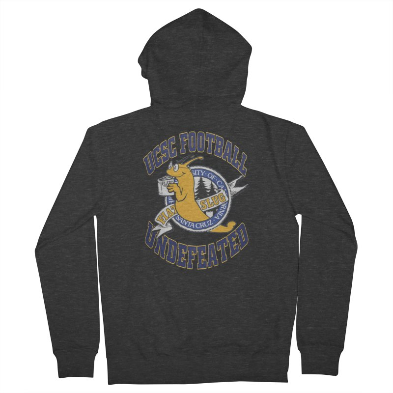 UCSC Slug Football Women's French Terry Zip-Up Hoody by UCSCfootball's Artist Shop