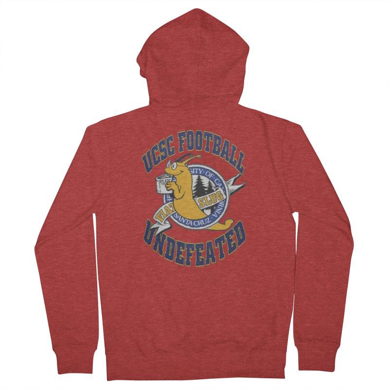 UCSC Slug Football Women's Zip-Up Hoody by UCSCfootball's Artist Shop