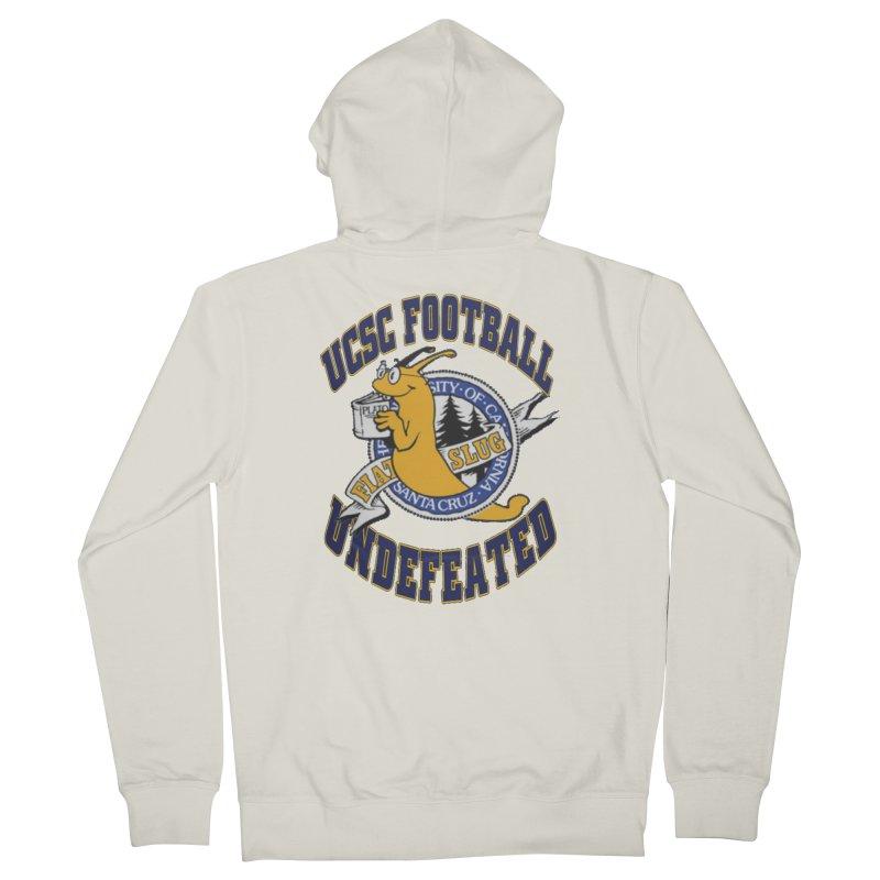 UCSC Slug Football Women's French Terry Zip-Up Hoody by UCSCfootball's Artist Shop