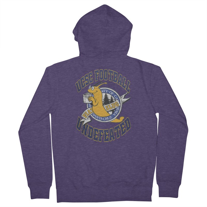 UCSC Slug Football Men's Zip-Up Hoody by UCSCfootball's Artist Shop