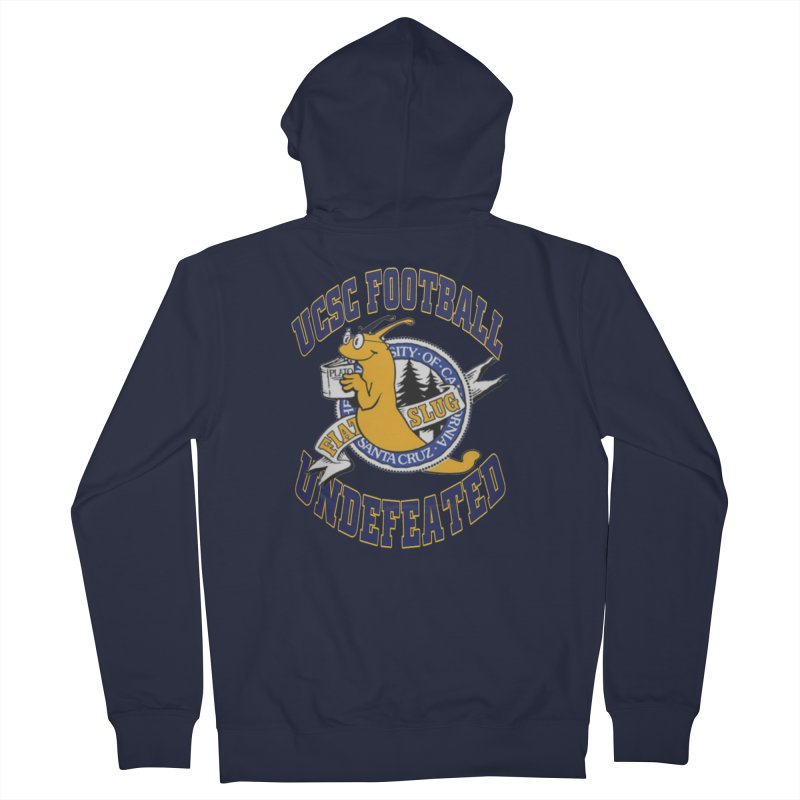 UCSC Slug Football Men's French Terry Zip-Up Hoody by UCSCfootball's Artist Shop