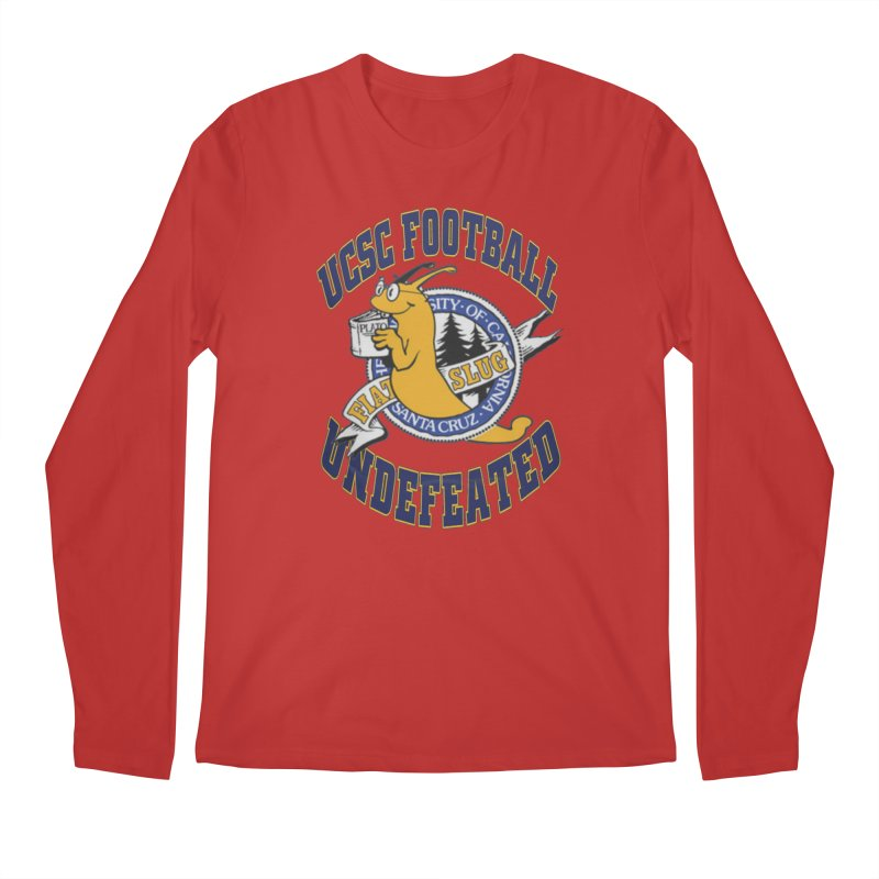 UCSC Slug Football Men's Regular Longsleeve T-Shirt by UCSCfootball's Artist Shop