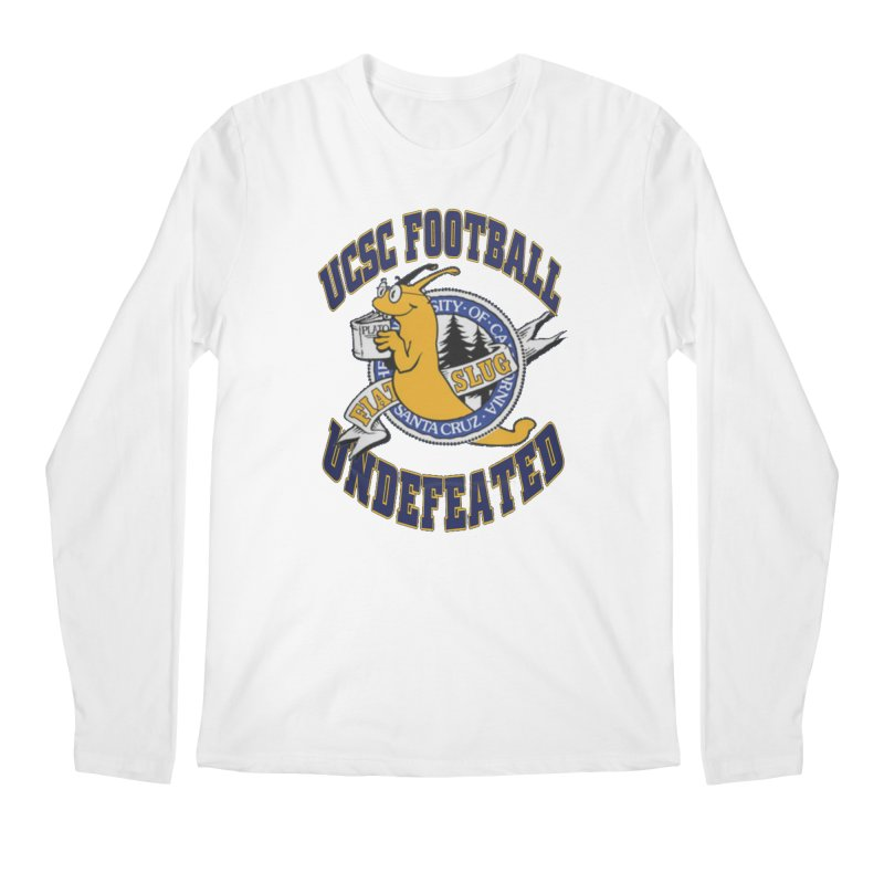 UCSC Slug Football Men's Regular Longsleeve T-Shirt by UCSCfootball's Artist Shop