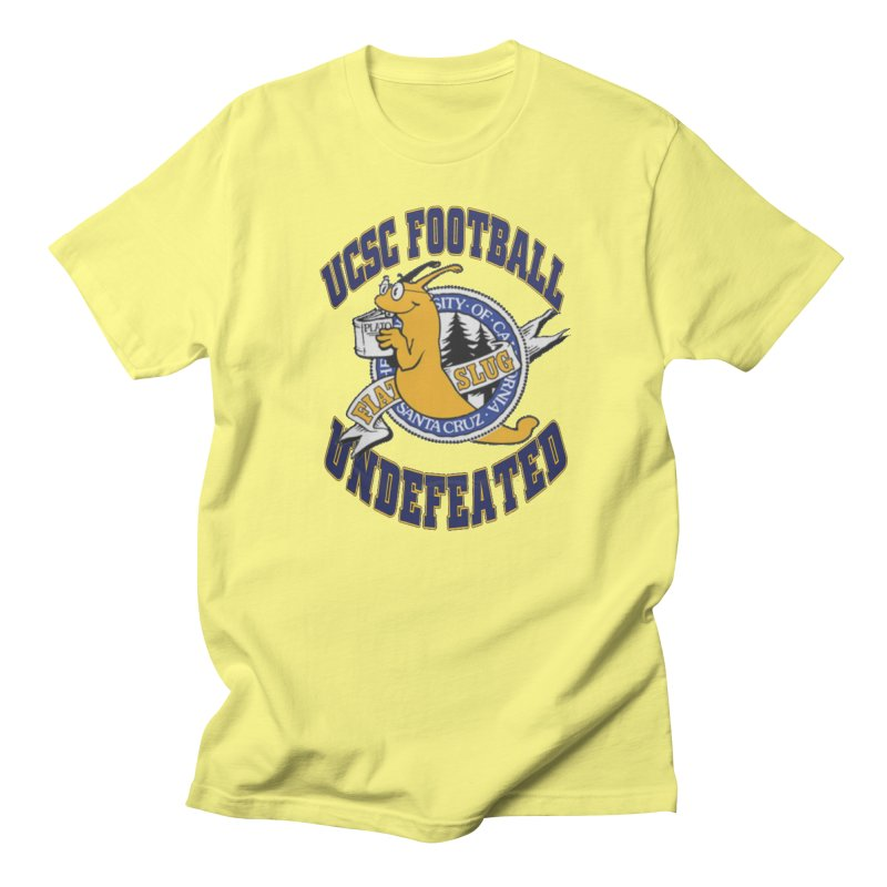 UCSC Slug Football Men's Regular T-Shirt by UCSCfootball's Artist Shop