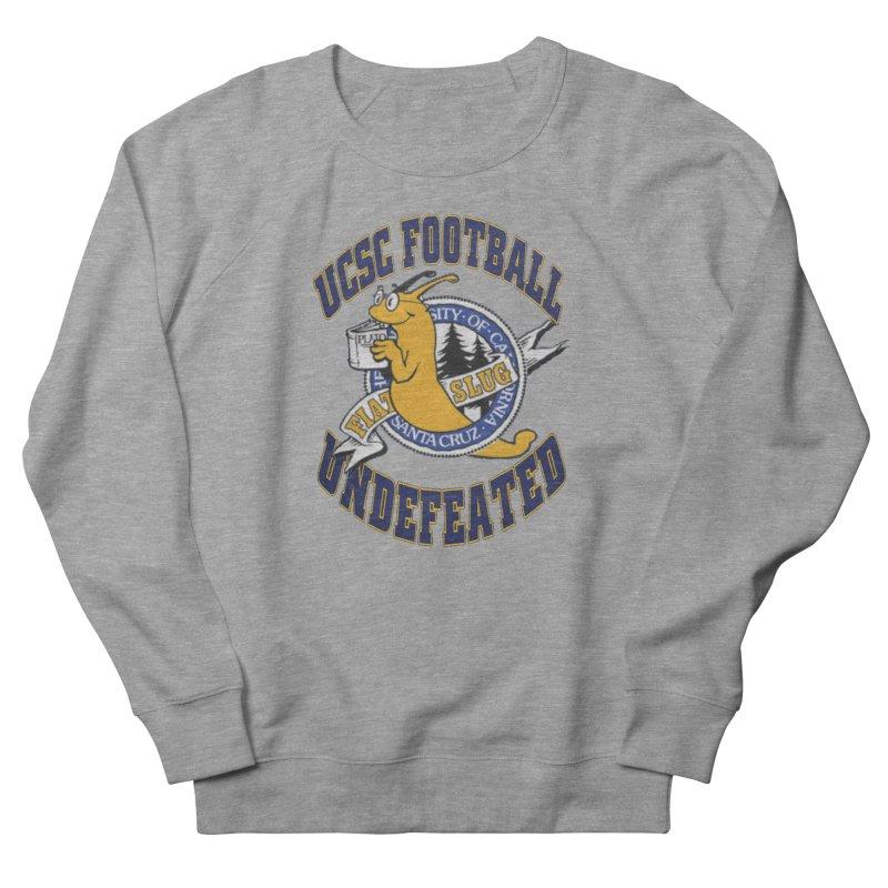 UCSC Slug Football Women's French Terry Sweatshirt by UCSCfootball's Artist Shop