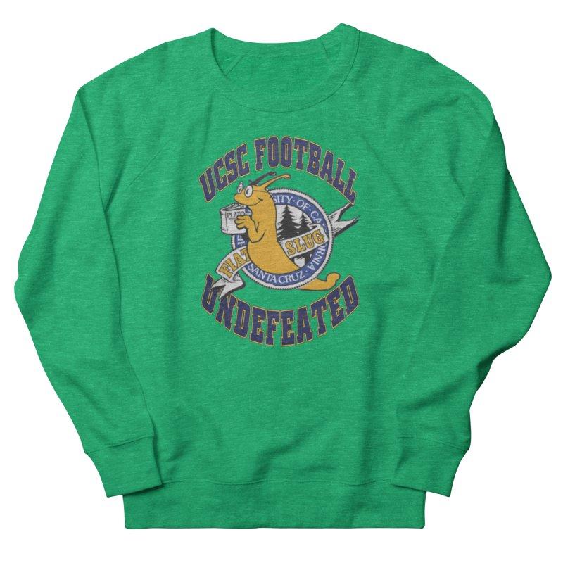 UCSC Slug Football Men's French Terry Sweatshirt by UCSCfootball's Artist Shop