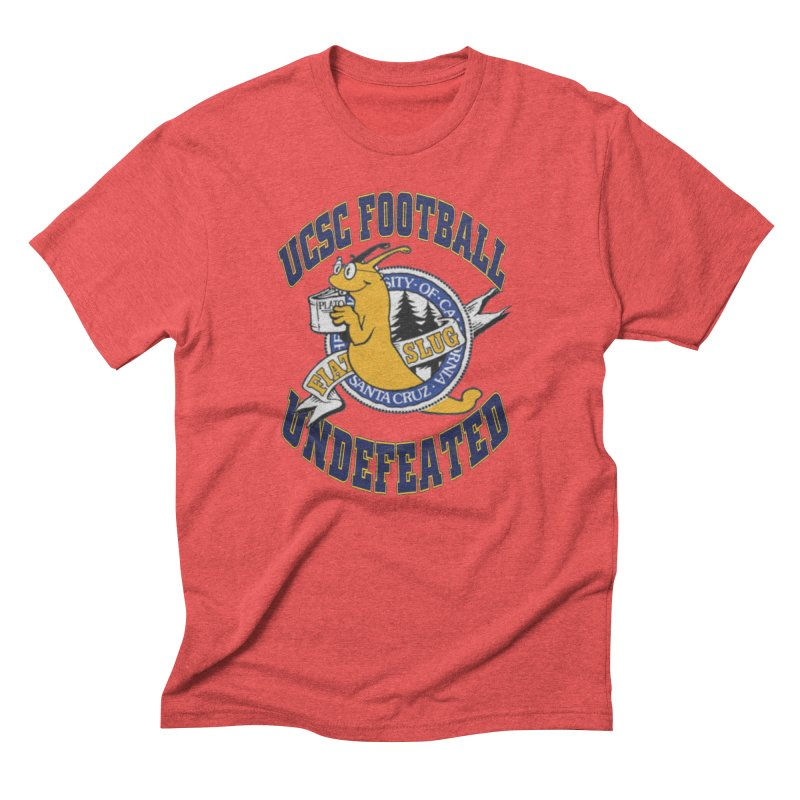 UCSC Slug Football Men's Triblend T-Shirt by UCSCfootball's Artist Shop