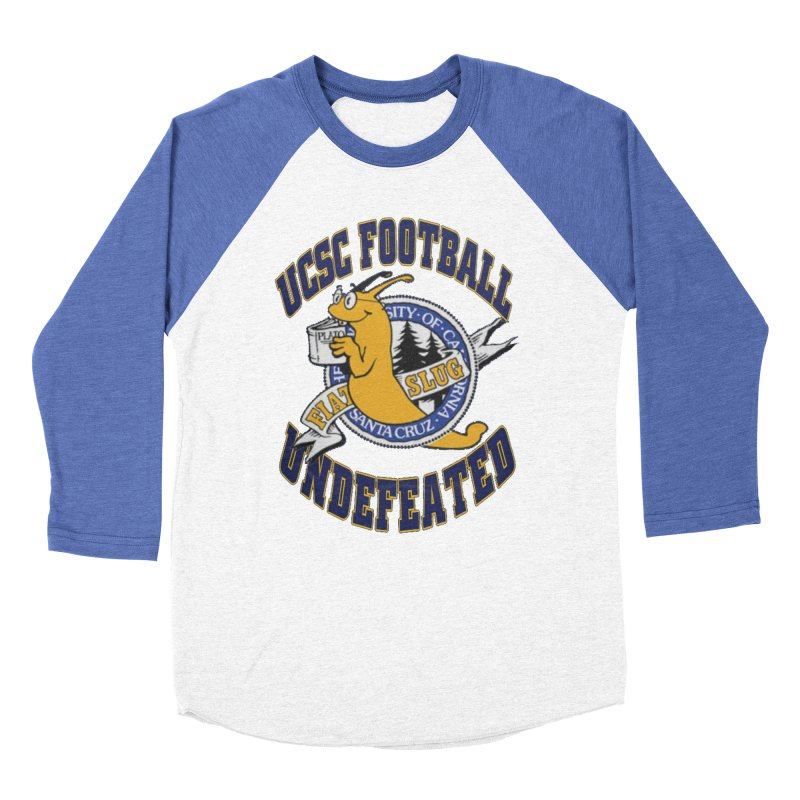 UCSC Slug Football Women's Baseball Triblend Longsleeve T-Shirt by UCSCfootball's Artist Shop