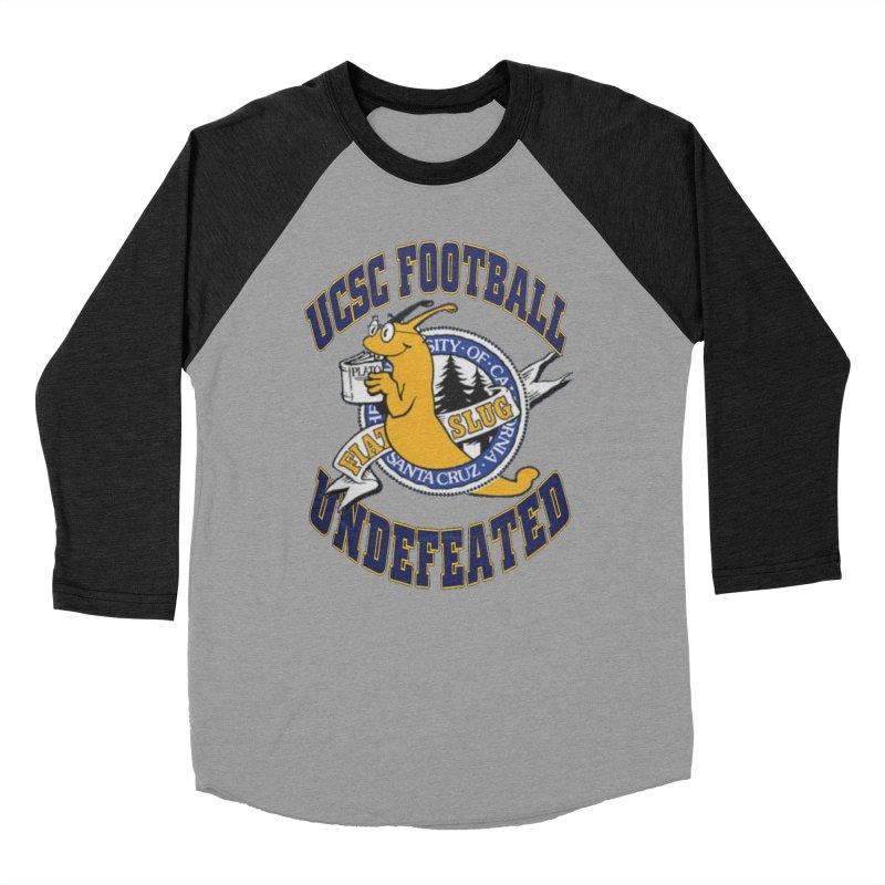 UCSC Slug Football Men's Baseball Triblend Longsleeve T-Shirt by UCSCfootball's Artist Shop