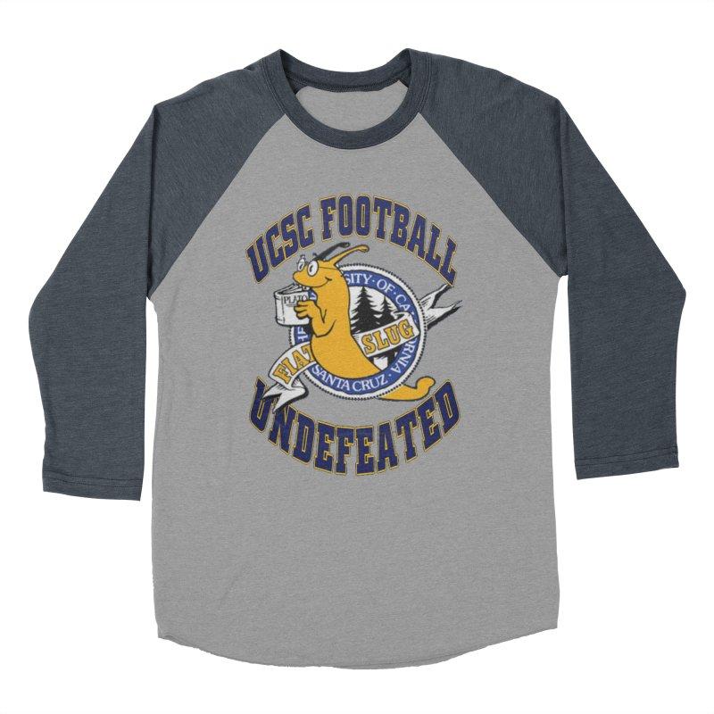 UCSC Slug Football Men's Baseball Triblend T-Shirt by UCSCfootball's Artist Shop