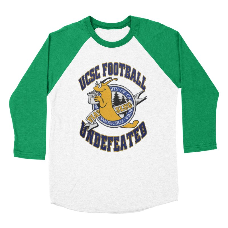 UCSC Slug Football Men's Baseball Triblend Longsleeve T-Shirt by UCSCfootball's Artist Shop
