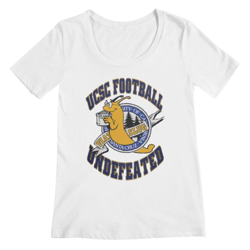 UCSC Slug Football Women's Regular Scoop Neck by UCSCfootball's Artist Shop
