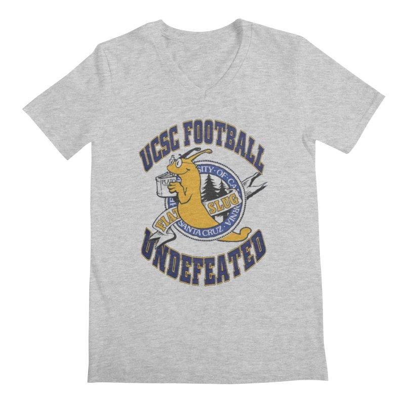 UCSC Slug Football Men's V-Neck by UCSCfootball's Artist Shop