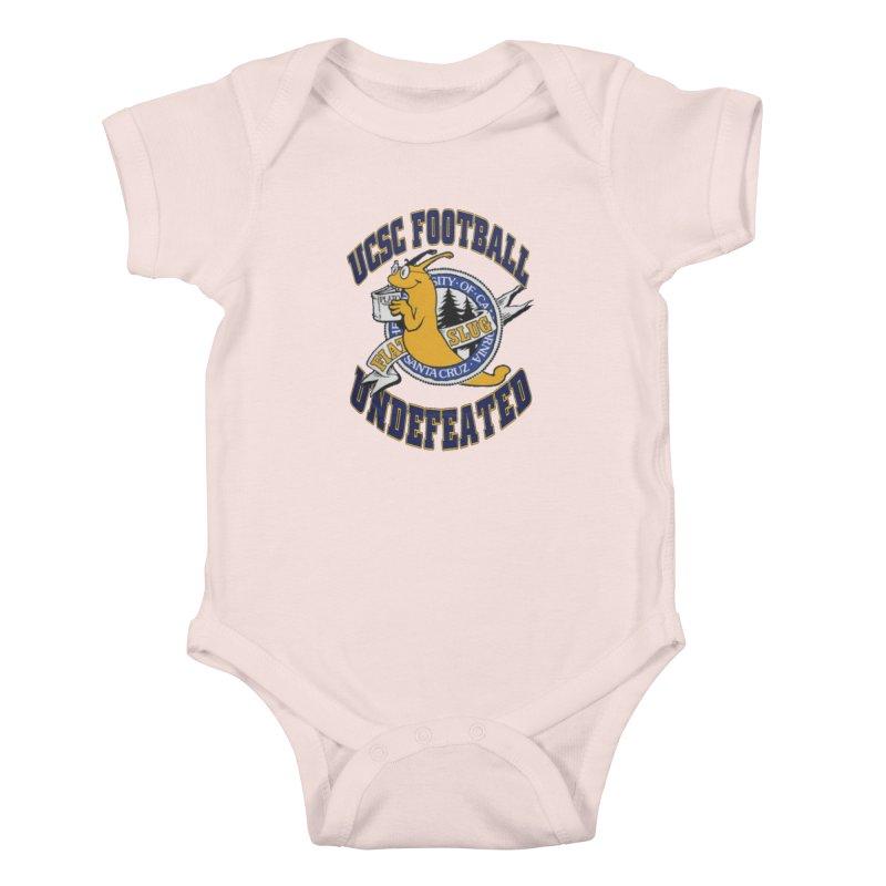 UCSC Slug Football Kids Baby Bodysuit by UCSCfootball's Artist Shop