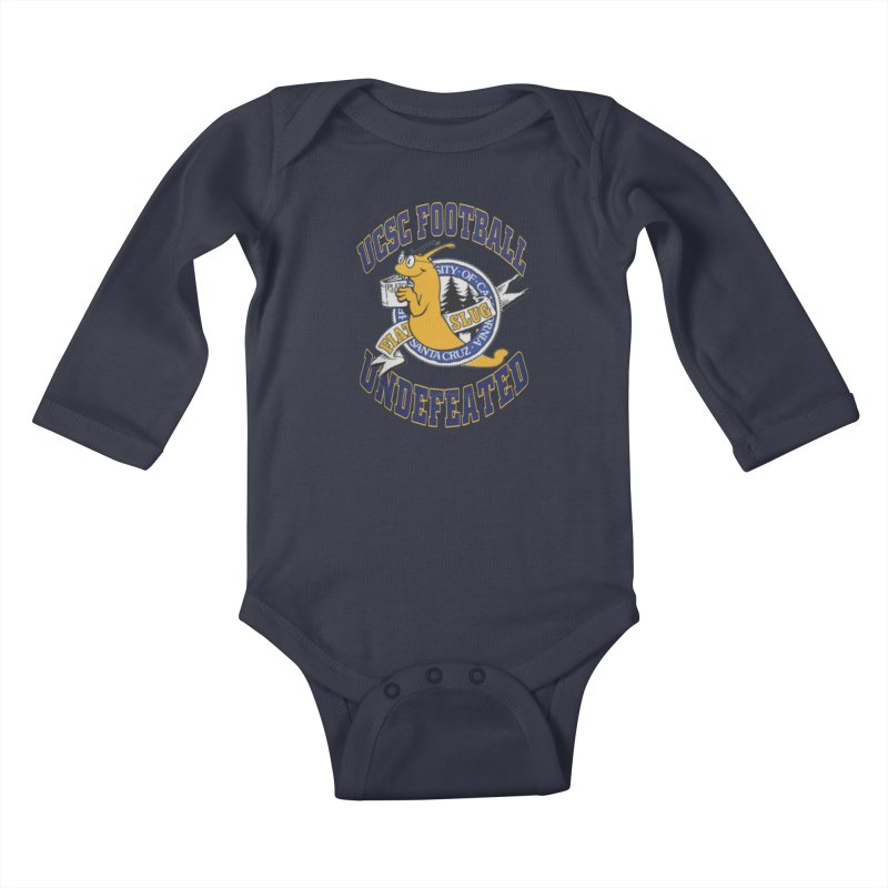 UCSC Slug Football Kids Baby Longsleeve Bodysuit by UCSCfootball's Artist Shop