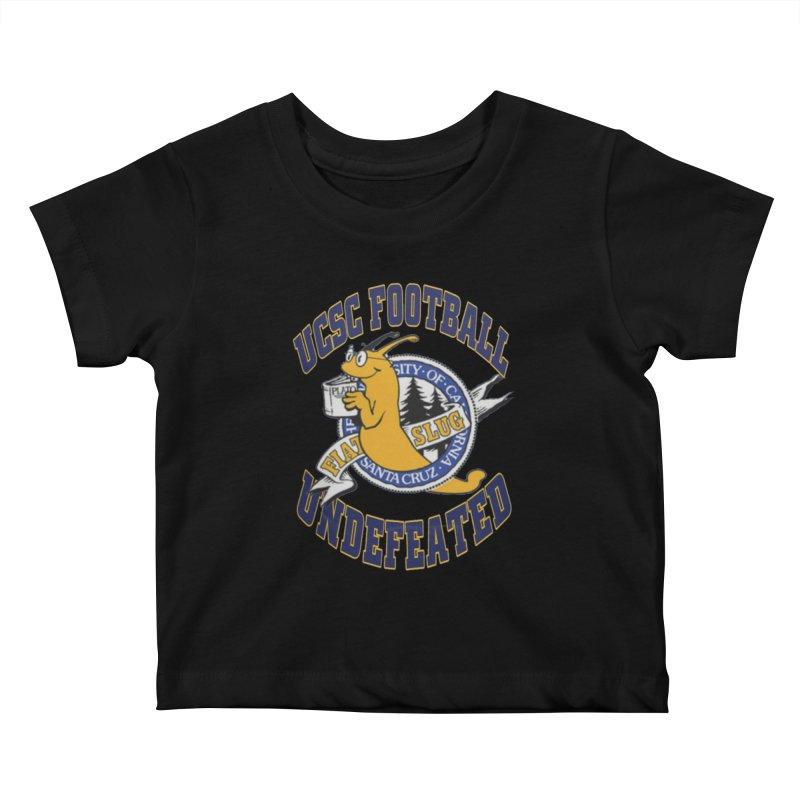 UCSC Slug Football Kids Baby T-Shirt by UCSCfootball's Artist Shop