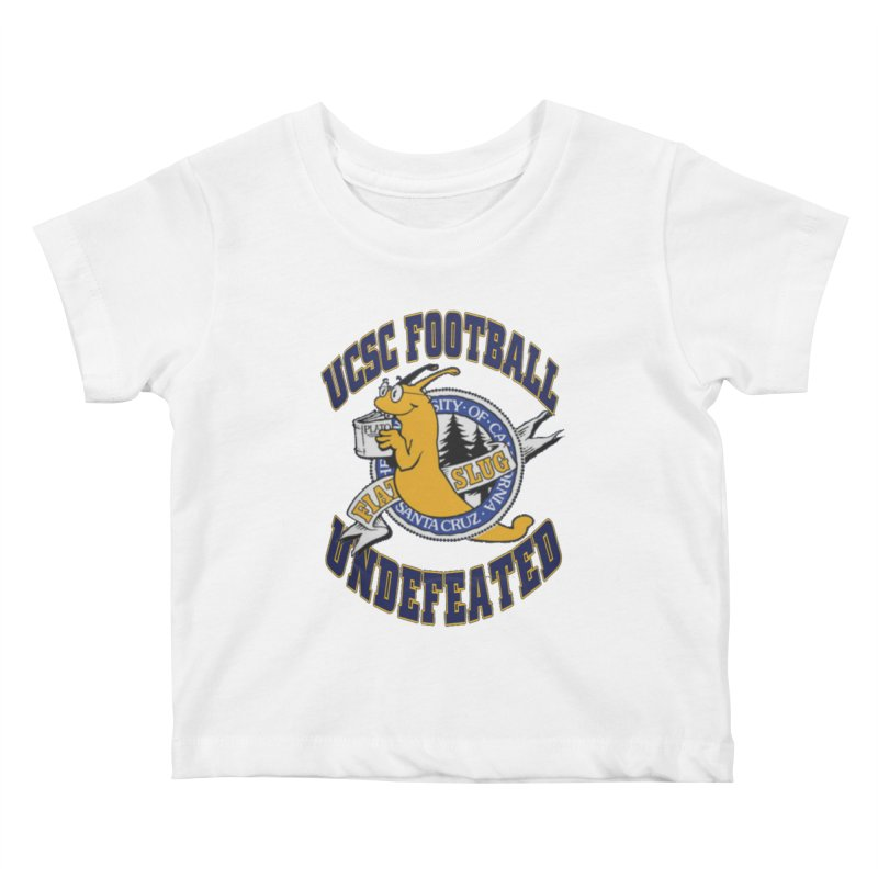 UCSC Slug Football Kids Baby T-Shirt by UCSCfootball's Artist Shop