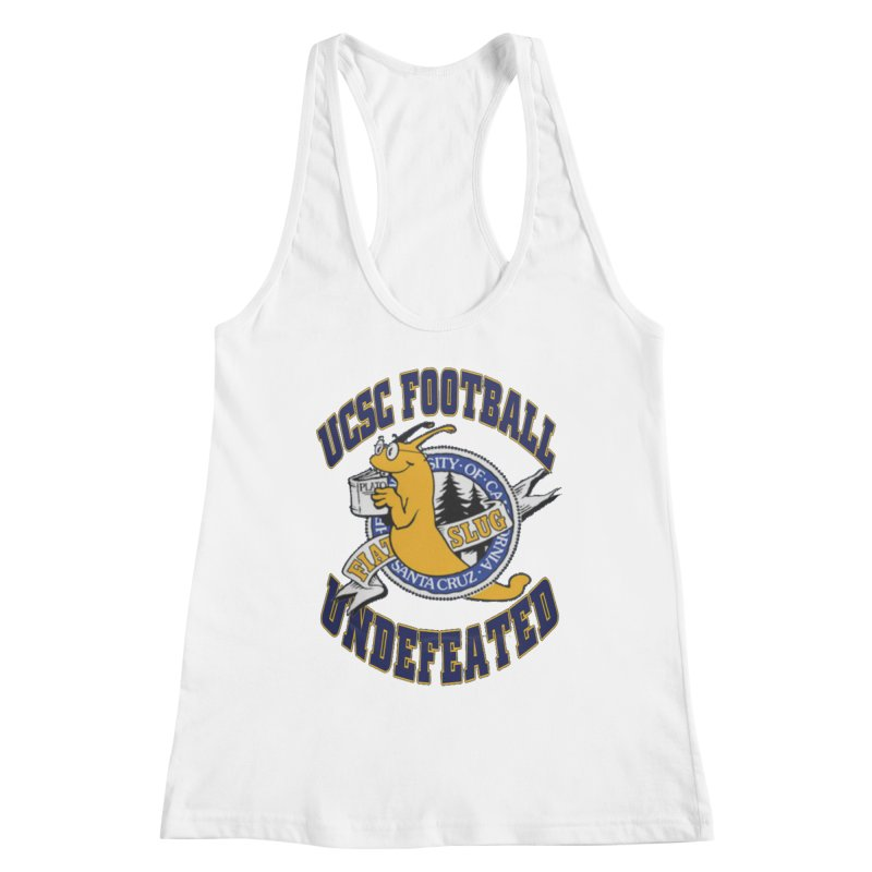 UCSC Slug Football Women's Racerback Tank by UCSCfootball's Artist Shop