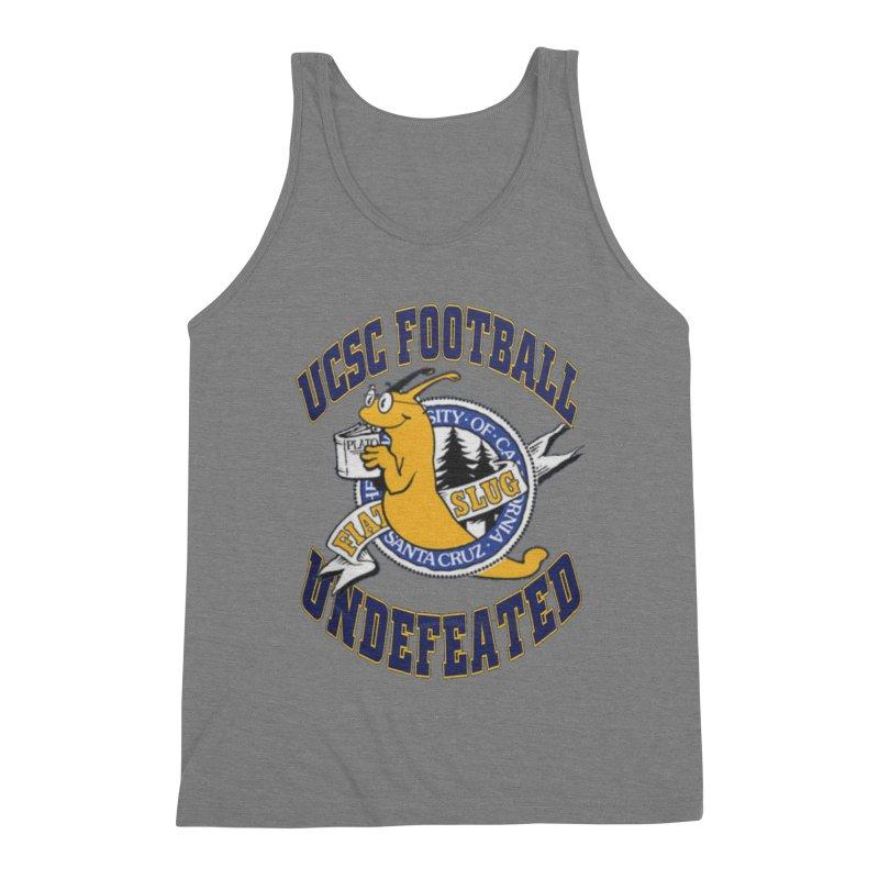 UCSC Slug Football Men's Triblend Tank by UCSCfootball's Artist Shop
