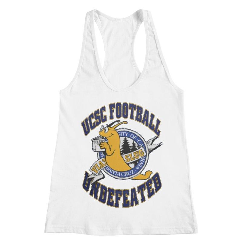 UCSC Slug Football Women's Racerback Tank by UCSCfootball's Artist Shop