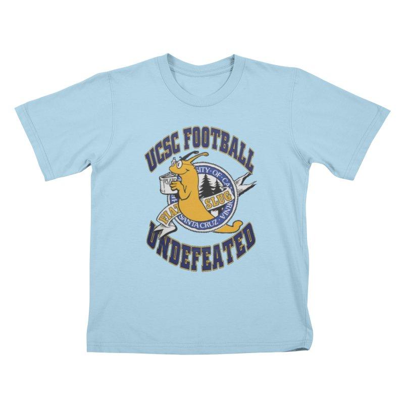 UCSC Slug Football Kids T-Shirt by UCSCfootball's Artist Shop