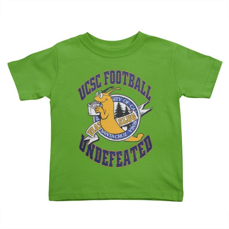 UCSC Slug Football Kids Toddler T-Shirt by UCSCfootball's Artist Shop