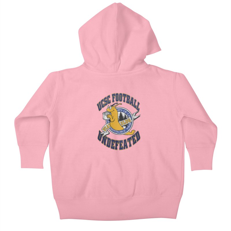 UCSC Slug Football Kids Baby Zip-Up Hoody by UCSCfootball's Artist Shop