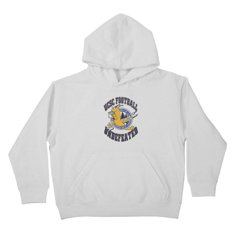 UCSC Slug Football Kids Pullover Hoody by UCSCfootball's Artist Shop