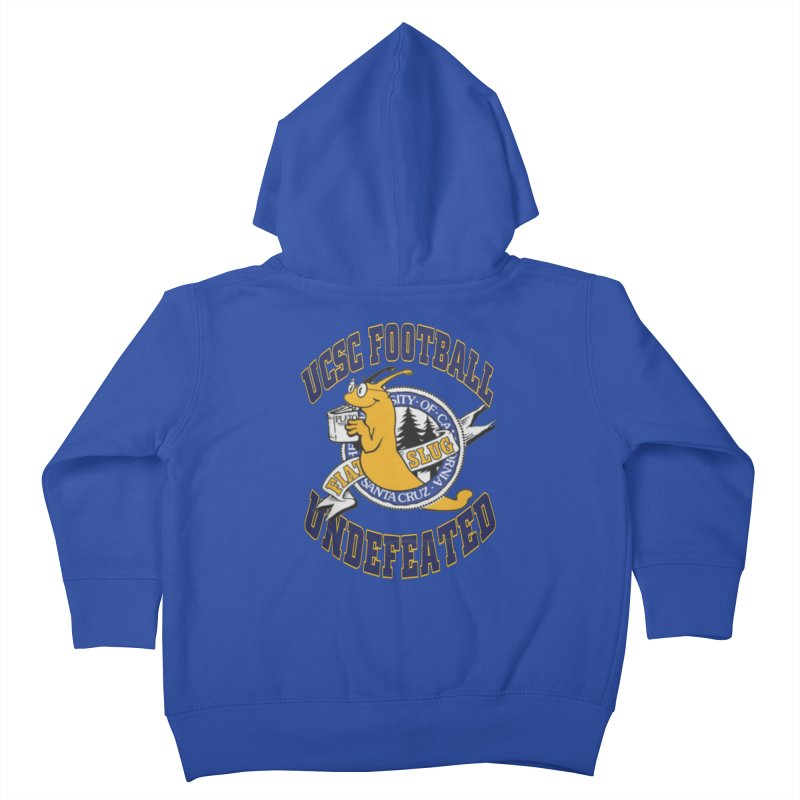 UCSC Slug Football Kids Toddler Zip-Up Hoody by UCSCfootball's Artist Shop