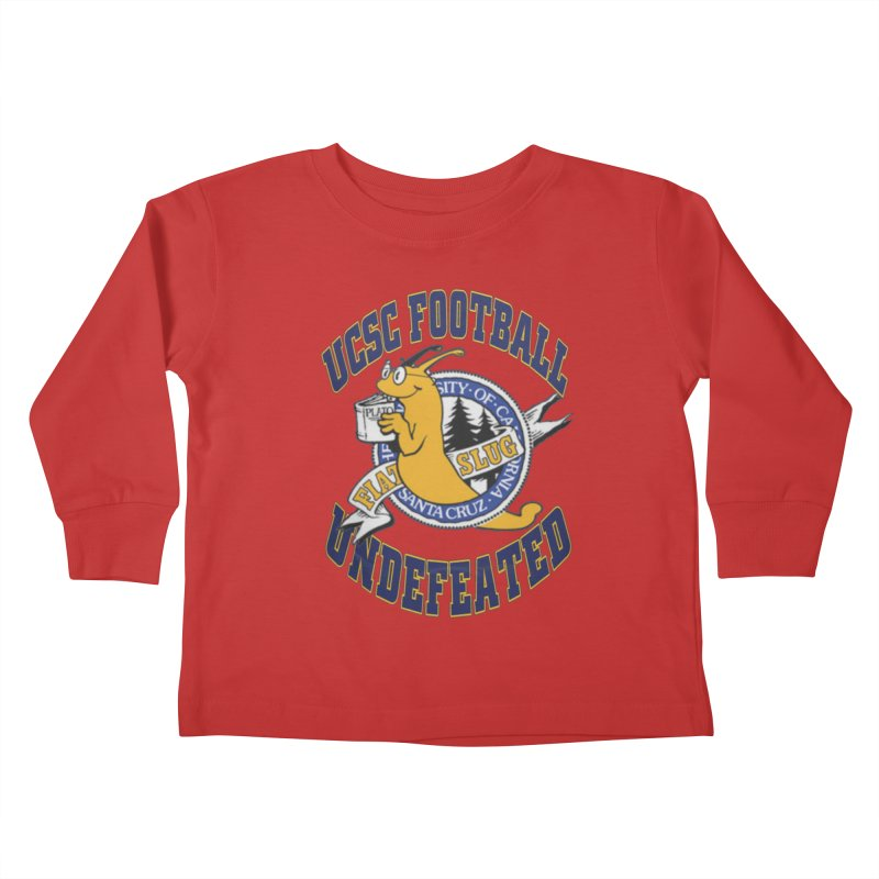 UCSC Slug Football Kids Toddler Longsleeve T-Shirt by UCSCfootball's Artist Shop