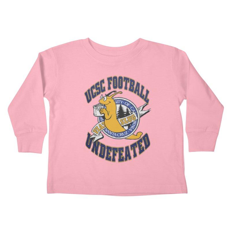 UCSC Slug Football Kids Toddler Longsleeve T-Shirt by UCSCfootball's Artist Shop