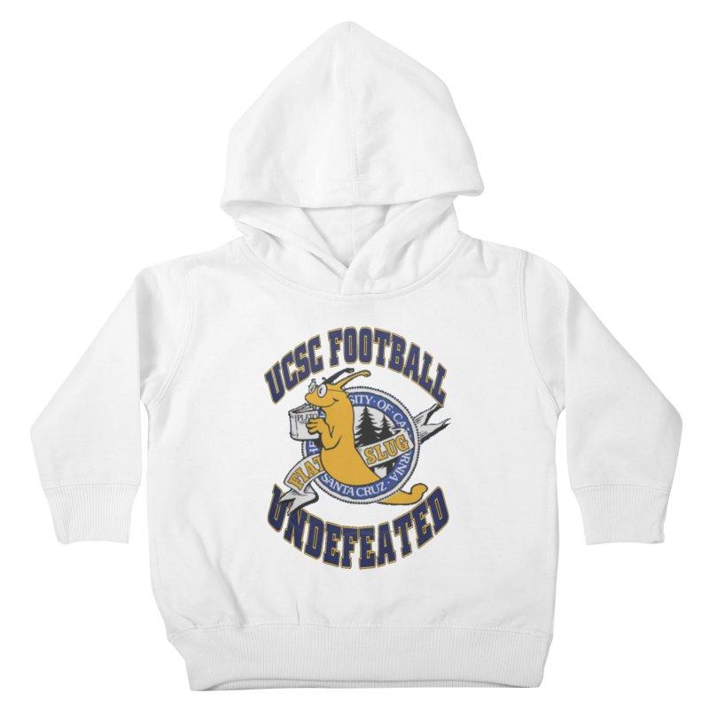 UCSC Slug Football Kids Toddler Pullover Hoody by UCSCfootball's Artist Shop