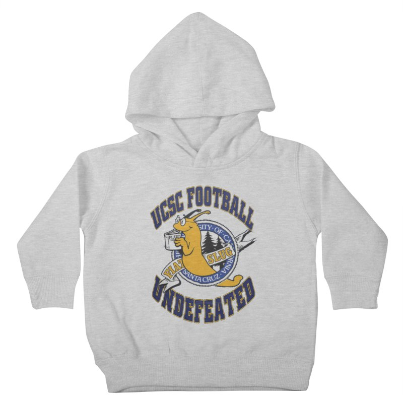UCSC Slug Football Kids Toddler Pullover Hoody by UCSCfootball's Artist Shop