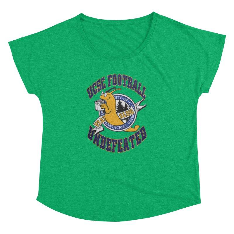 UCSC Slug Football Women's Dolman Scoop Neck by UCSCfootball's Artist Shop