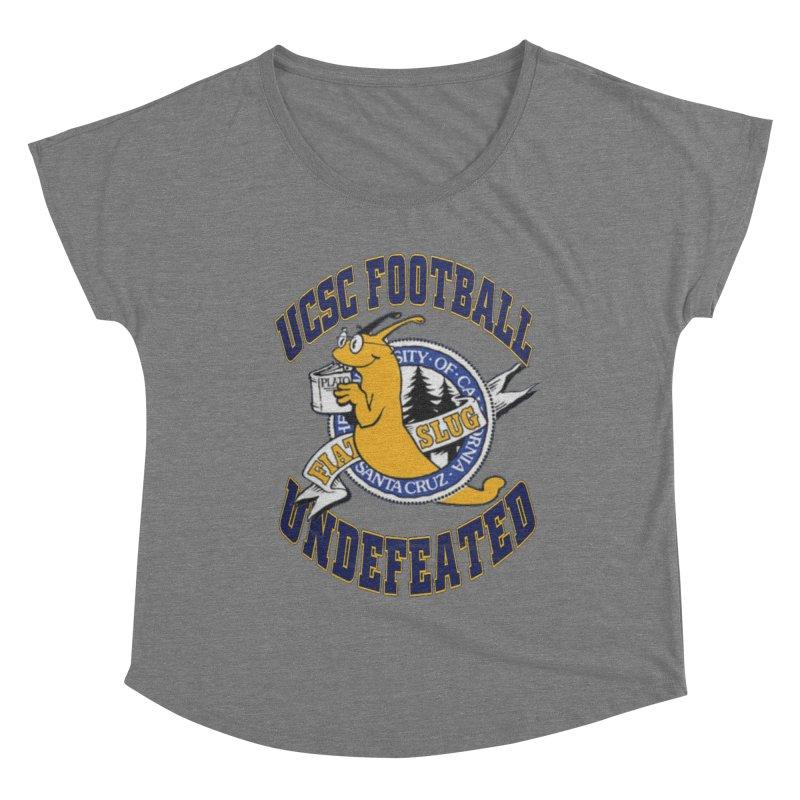 UCSC Slug Football Women's Scoop Neck by UCSCfootball's Artist Shop
