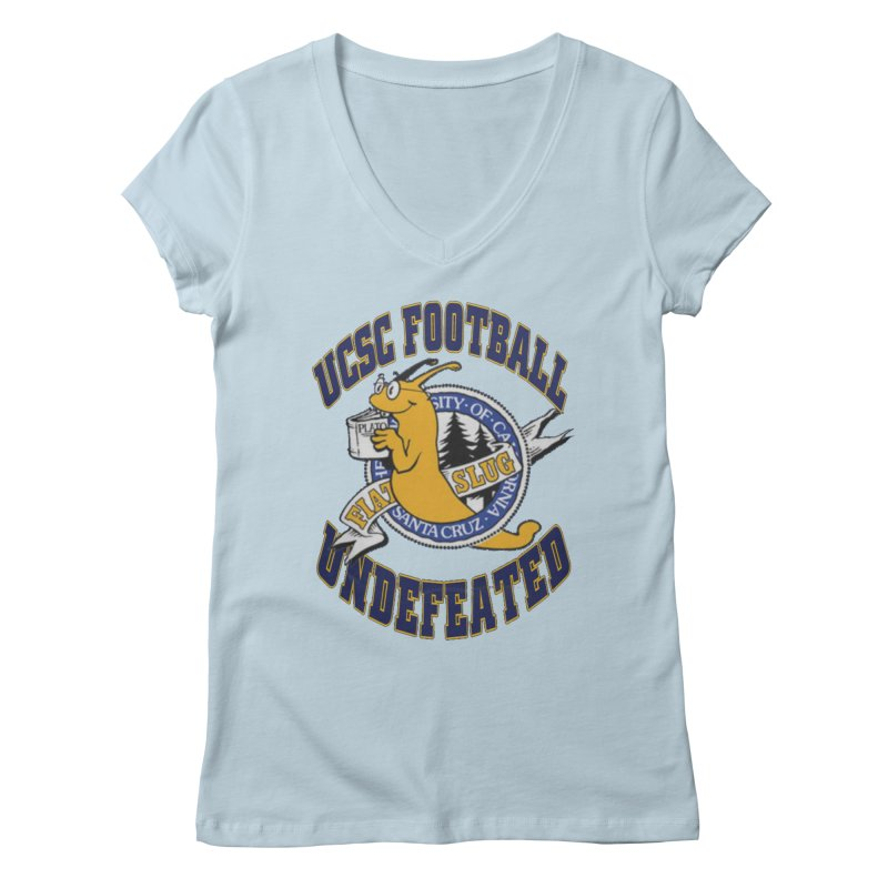 UCSC Slug Football Women's V-Neck by UCSCfootball's Artist Shop