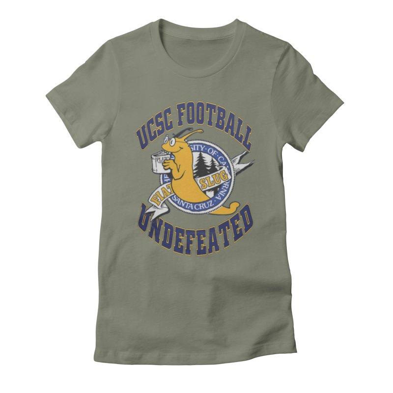 UCSC Slug Football Women's T-Shirt by UCSCfootball's Artist Shop
