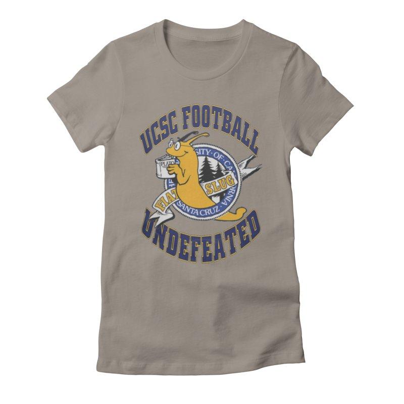 UCSC Slug Football Women's Fitted T-Shirt by UCSCfootball's Artist Shop