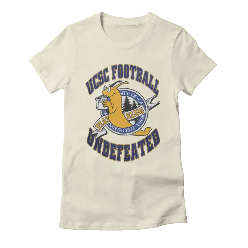 UCSC Slug Football Women's Fitted T-Shirt by UCSCfootball's Artist Shop