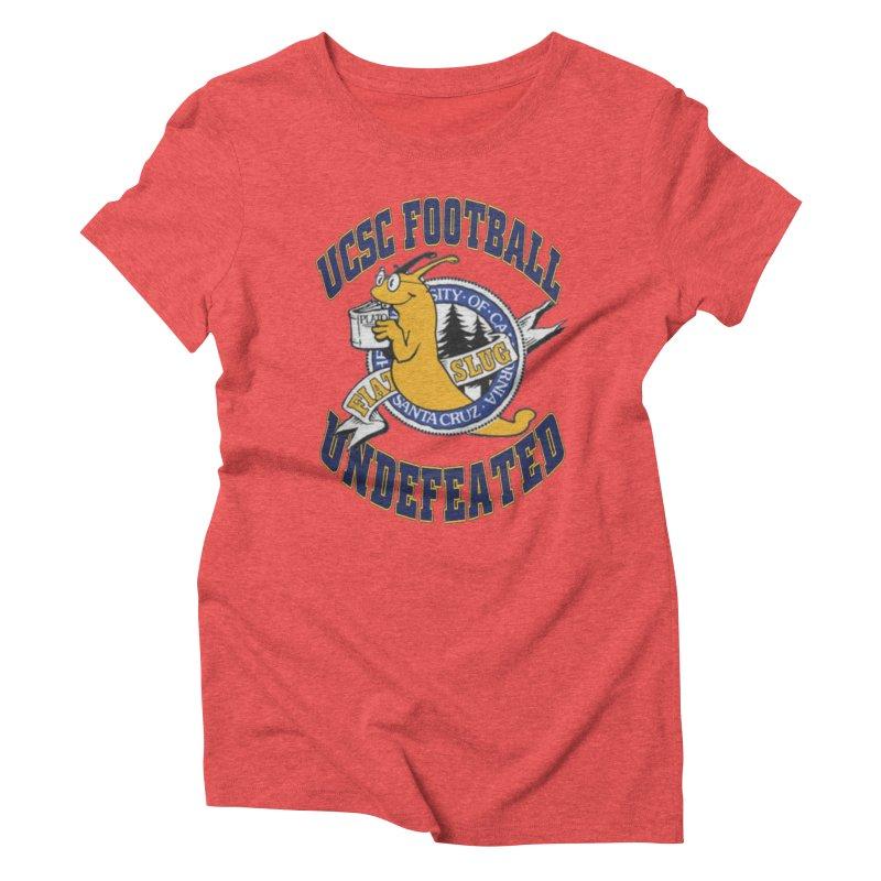 UCSC Slug Football Women's Triblend T-Shirt by UCSCfootball's Artist Shop