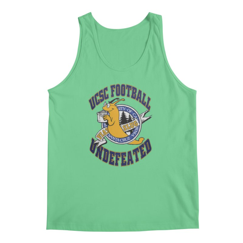 UCSC Slug Football Men's Tank by UCSCfootball's Artist Shop